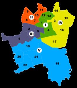 Katowice jednostki pomocnicze